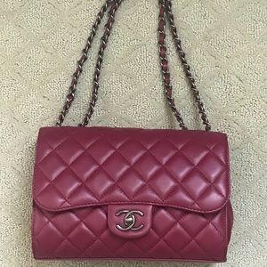 Chanel maroon handbag- limited edition